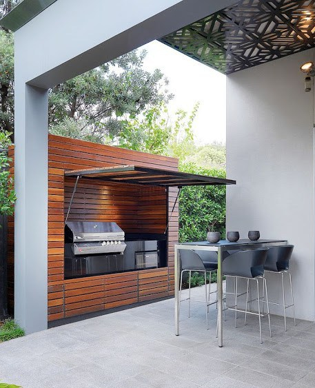 Sleek and Chic Grilling